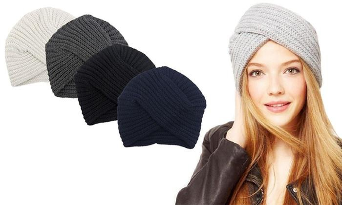 bonnet turban lola groupon shopping. Black Bedroom Furniture Sets. Home Design Ideas