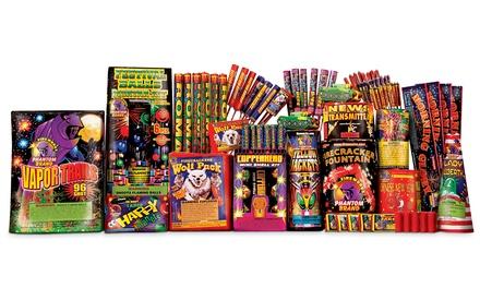 $70 for A-030 New Yorker Assortment from Phantom Fireworks ($169.99 Value)