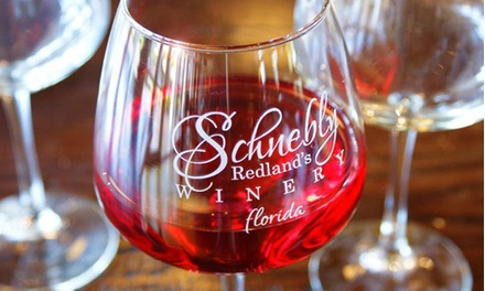 $29 for a Wine-Tasting Package for Two on a Friday or Saturday at Schnebly Redland's Winery (Up to 52% Off)