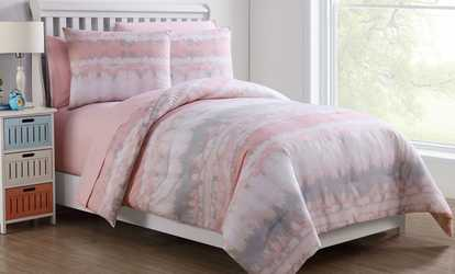Paris Collection Bed In A Bag Or Printed Quilt Set Groupon