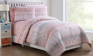 Blush Crush Bed in a Bag Set with Sheets (5- or 7-Piece)