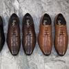 Men's Leather Brogue Shoes