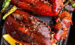 La Terraza: 2 kilos de parrillada de marisco para dos personas con entrante, postre y botella de sidra desde 39,90 €