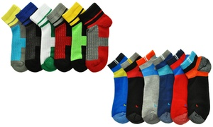 Angelina Cotton-Blend Sports Socks (6-Pack)