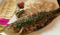 Two-Course Mediterranean Meal with Drinks for Two, Four, Six or Eight at Bab Tooma (Up to 44% Off)