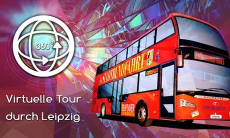 90 Min. Virtuelle 360-Grad-Tour durch Leipzig mit Leipziger Stadtrundfahrten