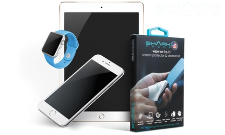 1 o 2 protectores de pantalla y kit de limpieza Liquid Wipe-On desde 14,99 €