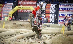 EnduroCross – Up to 61% Off Motorcycle Race at EnduroCross, plus 6.0% Cash Back from Ebates.
