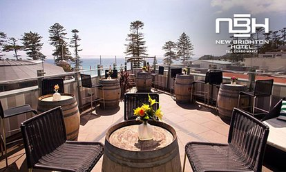 $29 for $50, $49 for $100 or $74 for $150 to Spend on Pub Food at New Brighton Hotel