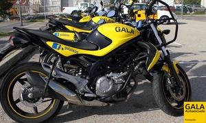 Autoescuela Gala: Curso para obtener el carné de moto A1 o A2 con 5 o 7 prácticas desde 49 € en 50 centros de Autoescuela Gala