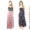 Juniors' Multi-Print Maxi Dresses
