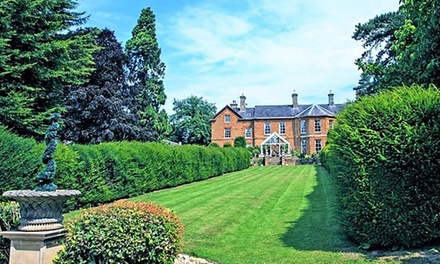 Northamptonshire: Standard Double Room for Two with Breakfast, Leisure Access and Optional Dinner at 4* Sedgebrook Hall