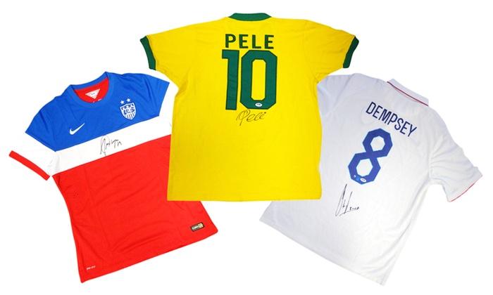 Pele and US Soccer Autographed Memorabilia
