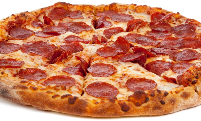 Michael Zachary's - Pizza, Burgers, Ice Cream - Lake Ronkonkoma: Pizza at Michael Zachary's - Pizza, Burgers, Ice Cream (50% Off). Two Options Available.