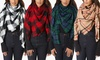 Clearance Women's Cold Weather Over-Sized Cozy Blanket Scarf