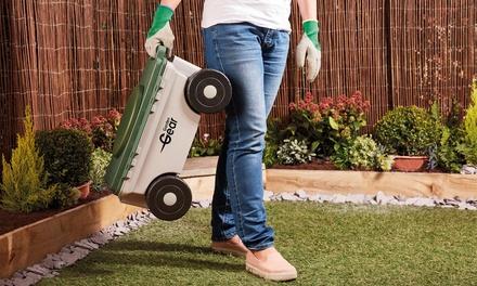 Baúl de jardín con ruedas