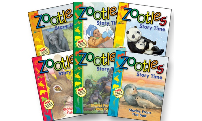 "Zoobooks: $19.99 for a ""Zootles"" Six-Book Set plus One Bonus Book from Zoobooks ($65 Value)"