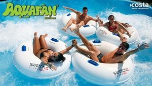 Aquafan di Riccione, Ingressi Open: Aquafan di Riccione - Ingresso Open valido per una persona (sconto 30%)