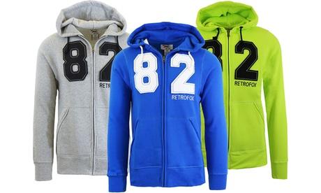 Men's Heavy Fleece Zip Hoodie with Thermal Lined Hood 22c28306-e428-11e7-af2c-00259069d868