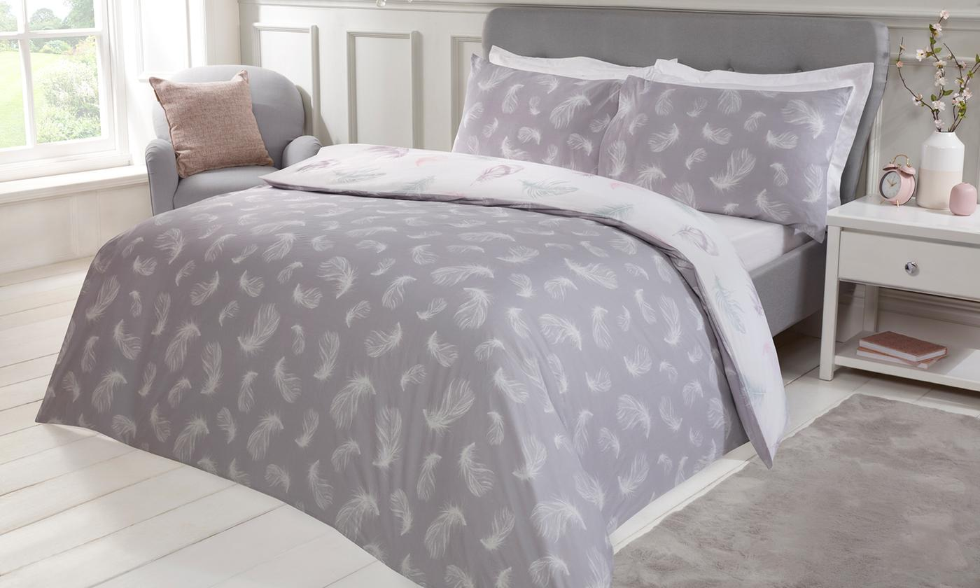 200TC Feathers Duvet Set