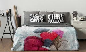 Up to 87% Off Custom Premium Plush Fleece Photo Blankets at CanvasOnSale, plus 9.0% Cash Back from Ebates.