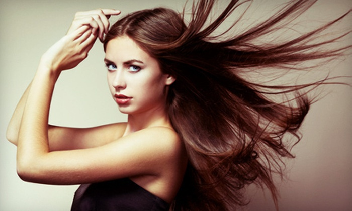 Rone Salon - Midlothian: Mini Highlights with Haircut and Blow-Dry or Keratin Straightening Treatment at Rone Salon (Up to 51% Off)