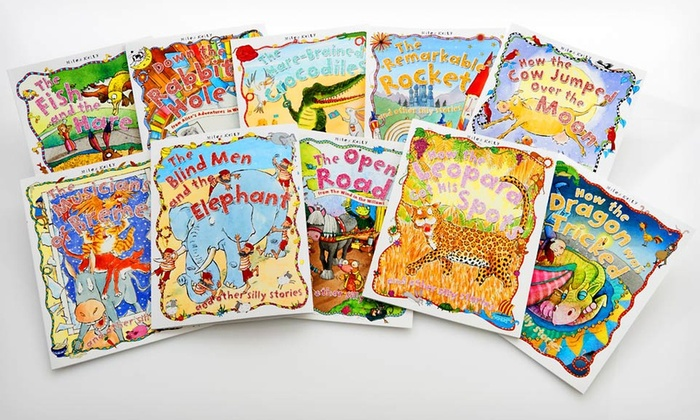 Silly Stories Book Bundle: Children's Silly Stories 10-Book Set. Free Shipping.