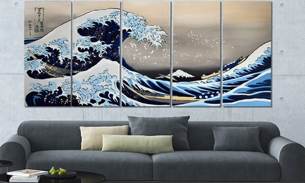 Gallery-Wrapped Large Hand-Painted or Canvas Print Wall Art