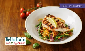Bella Italia: Two-Course Italian Meal for Two or Four at Bella Italia, Nationwide (Up to 57% Off)
