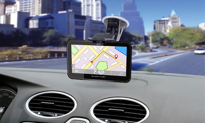 One or Two GoSmart GPS Navigation Systems with Optional 32GB SD Card for £29.99