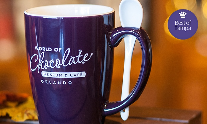 World of Chocolate Museum & Cafe - Southwest Orange: Chocolate Tour with Optional Mug and Coffee or Cocoa at World of Chocolate Museum & Cafe (Up to 47% Off)