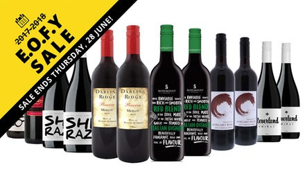 EOFYS: From $59 for 12 Winter Red and White Wines, Including Barossa Valley and Five-Star Wineries (Don't Pay $219.00)