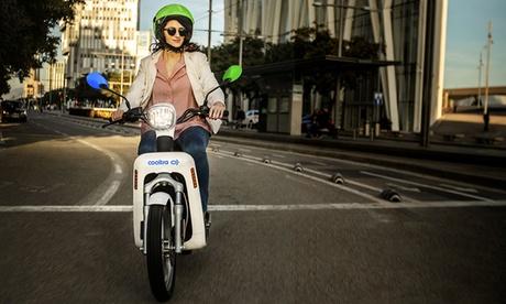 Paga 1 € y obtén un bono de 15 € para el alquiler de motos eléctricas con Cooltra