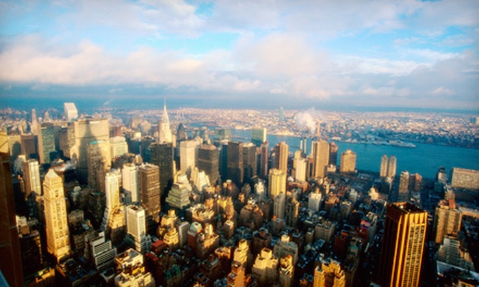 NYC Air Service - Linden: Discovery Flight for One or New York Sightseeing Flight for Two or Three from NYC Air Service (Up to 53% Off)