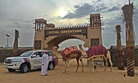 Desert Safari with Barbecue for Up to Four with Royal Adventure Travel & Tourism