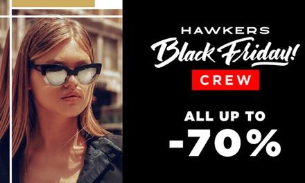 Descuentos de hasta 70% en gafas de sol y relojes de moda en Hawkers