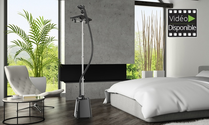 d froisseur vertical steamone h18b groupon. Black Bedroom Furniture Sets. Home Design Ideas