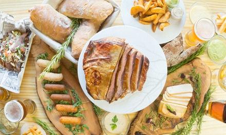 Menú para 2 o 4 con entrante, degustación de carnes ahumadas y bebida en Roots Ahumados (hasta 55% de descuento)