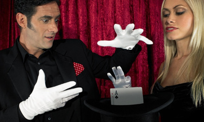 Occasions Divine - Near Northside: Three-Course Dinner and a Magic Show for Two, Four, or Eight from Occasions Divine (Up to 56% Off)