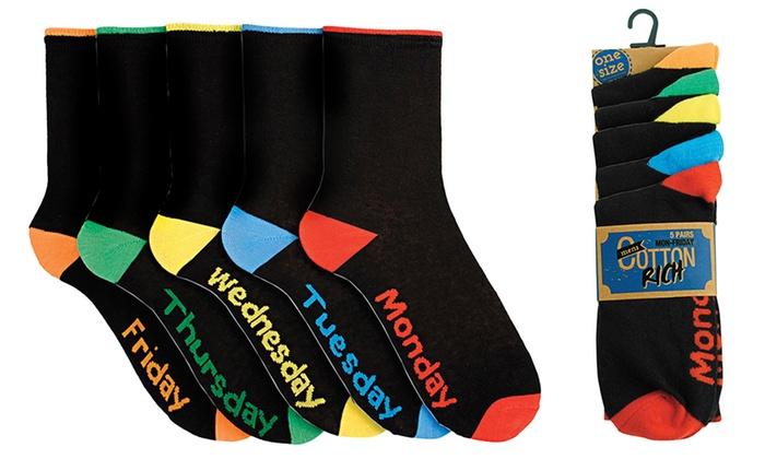 Uitgelezene Set van 10 paar sokken | Groupon Goods LR-61