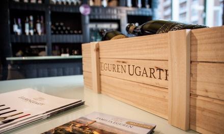 Cata de vinos Eguren Ugarte para dos personas a elegir entre 4 opciones desde 12,95 € en Enoteca Eguren Ugarte