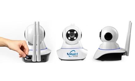 Caméra de surveillance IP Rotative SmartView / Wifi avec vision nocturne détection de mouvement et alarme à 59,99 €