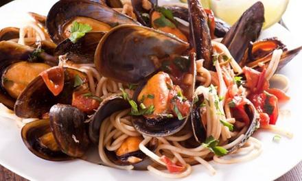 Menu pesce da 4 portate per 2 o 4 persone al ristorante Da Carlo (sconto fino a 63%)