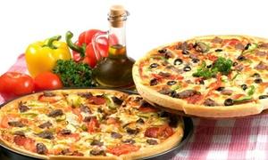 Pizza Fast: Pizza 45 cm z napojem oraz sosami od 20,99 zł w Pizza Fast (-38%)
