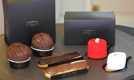 Angelina Singapore: $60 for a 2-Layer Box of Angelina Chocolates (worth $99). More Options Available