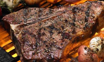 Menu con carni pregiate e vino