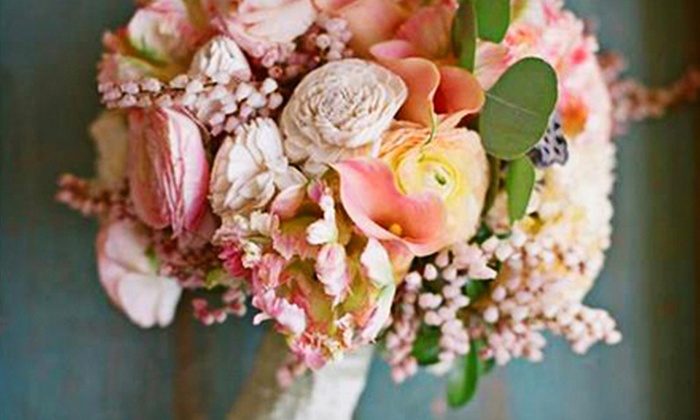 The Tuscan Rose Florist - Far North Central: Wedding Floral Packages from The Tuscan Rose Florist (Up to 60% Off). Four Options Available.