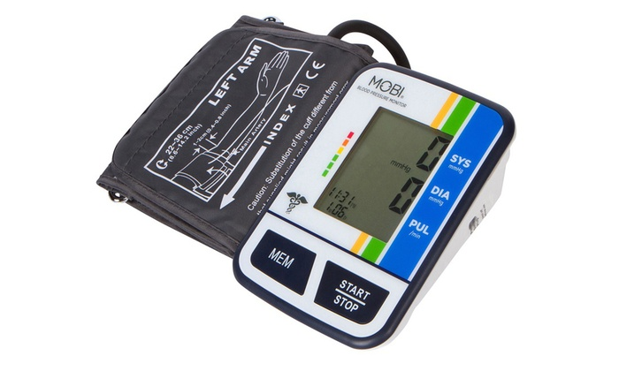 Up To 56% Off on Mobi Arm Blood Pressure Monitor | Groupon Goods