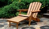 Foldable Adirondack Chair: Foldable Adirondack Chair