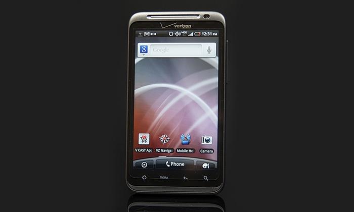 htc thunderbolt android verizon wireless smartphone mfr refurb rh groupon com Verizon HTC Smartphone Manual HTC One Cell Phone Manual